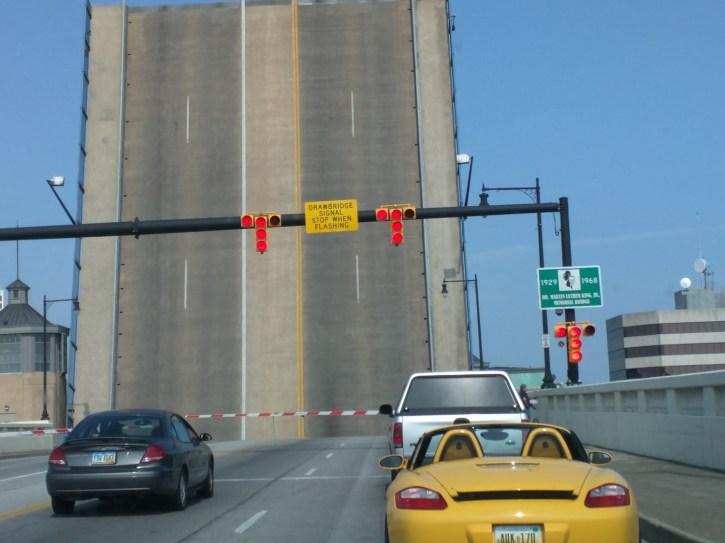 Draw Bridge in Toledo while I was wandering.