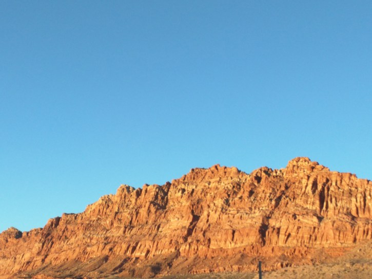 After the canyon in Navajo country.