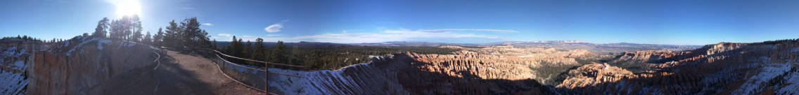 Inspiration Point Panorama One