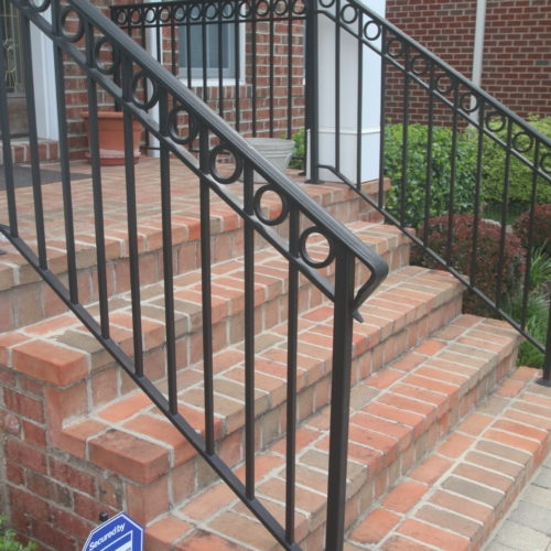 Wrought Iron Rail Fabricator Northern Virginia   Replacing Wrought Iron Stair Railing Outdoor   Stair Parts   Vinyl Railing   Stair Spindles   Wood Balusters   Cast Iron Balusters