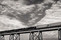 Detail of Huey P. Long Bridge; Bridge City, Louisiana, 2015
