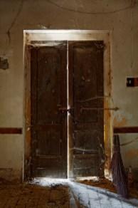 Still Life with Doors, Broom, and Cynar, 2010