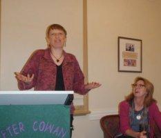 Jackson speaking at Peter Cowan Writers Centre