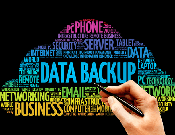 Data Backup word cloud concept 72 ppi - Network Design Services