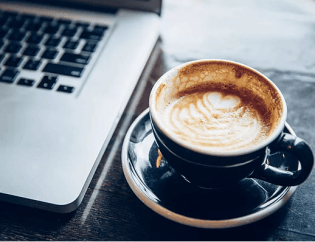 Computer and Latte - Are Your Remote Workers Secure?