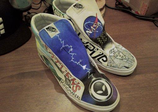 Fan-Created Artwork (Shoes)