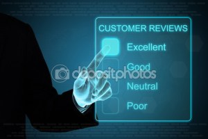 Customer reviews depositphotos_54721821-business-hand-clicking-customer-review-feedback-on-touch-screen-