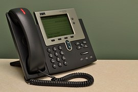 Telephone to signify telemarketer