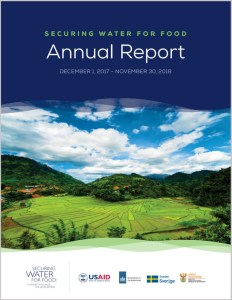 Securing Water for Food Annual Report