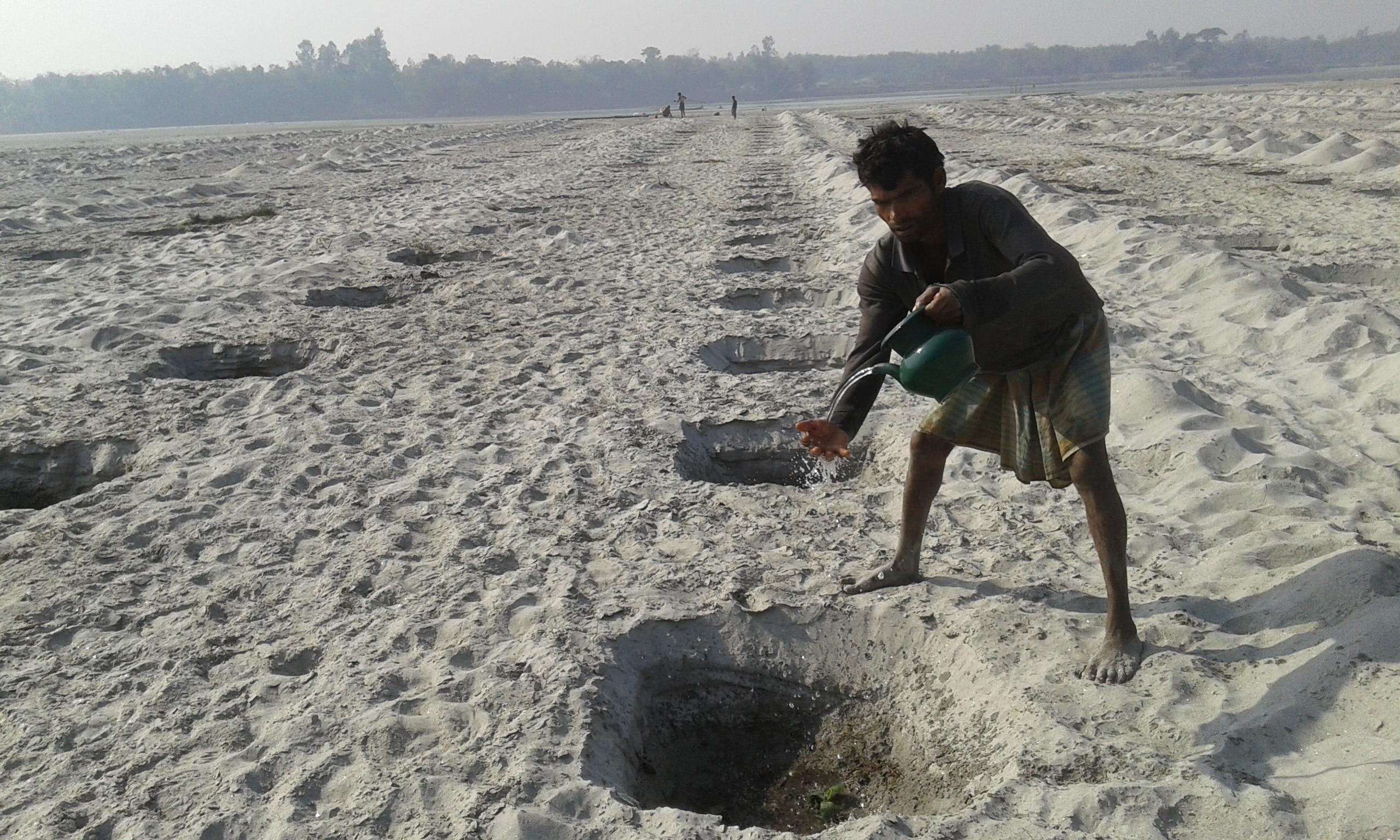 Sandbar Cropping - Practical Action