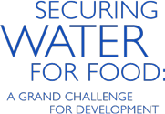 Securing Water for Food