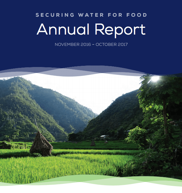 Securing Water for Food - 2017 Annual Report