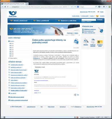 Hesperbot  phishing mail