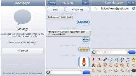 iMessage app for Android