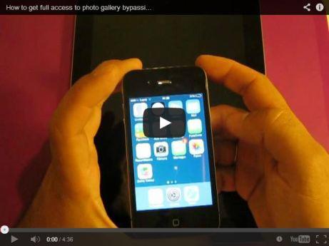 iOS 7 vulnerability