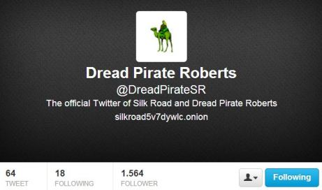 Dread Pirate Roberts Twitter Silk Road