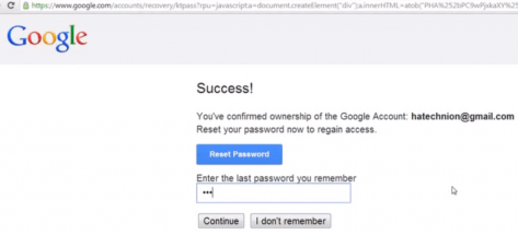 Hacking Google Gmail account 2
