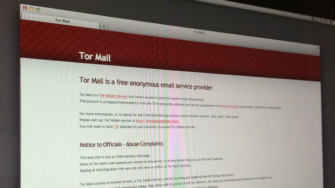 Tormail Network investigative technique