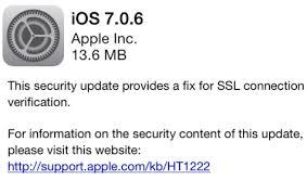 apple ios 7_0_6 security update