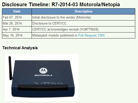 motorola 3347. the problems detected for cable modems are not limited to disclosure of users\u0027 credential, but also wep keys, wpa psk and ssid information, motorola 3347