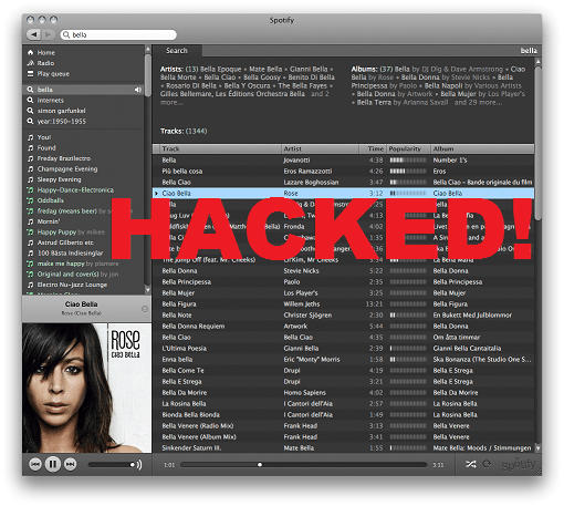 spotify hacked 2