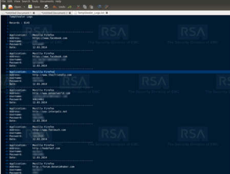 RSA malware tool