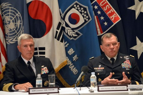 US South Korea command