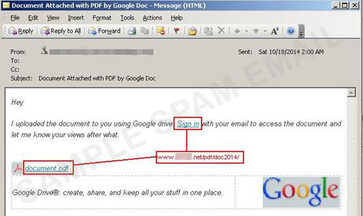 Google Drive once again exploited in a sophisticated ...