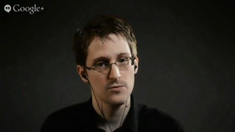 snowden iphone