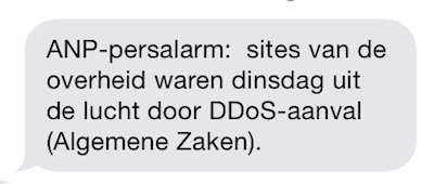 Dutch Government Webtite hit geenstijl too