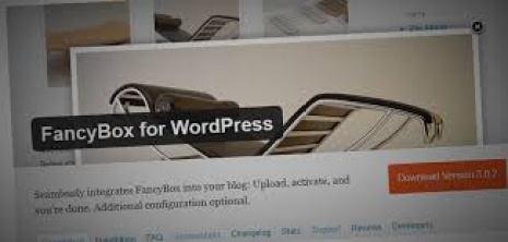FanceBox plugin WordPress