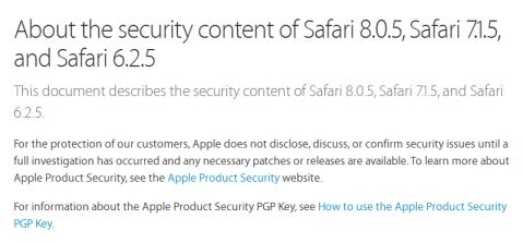 Safari flaw