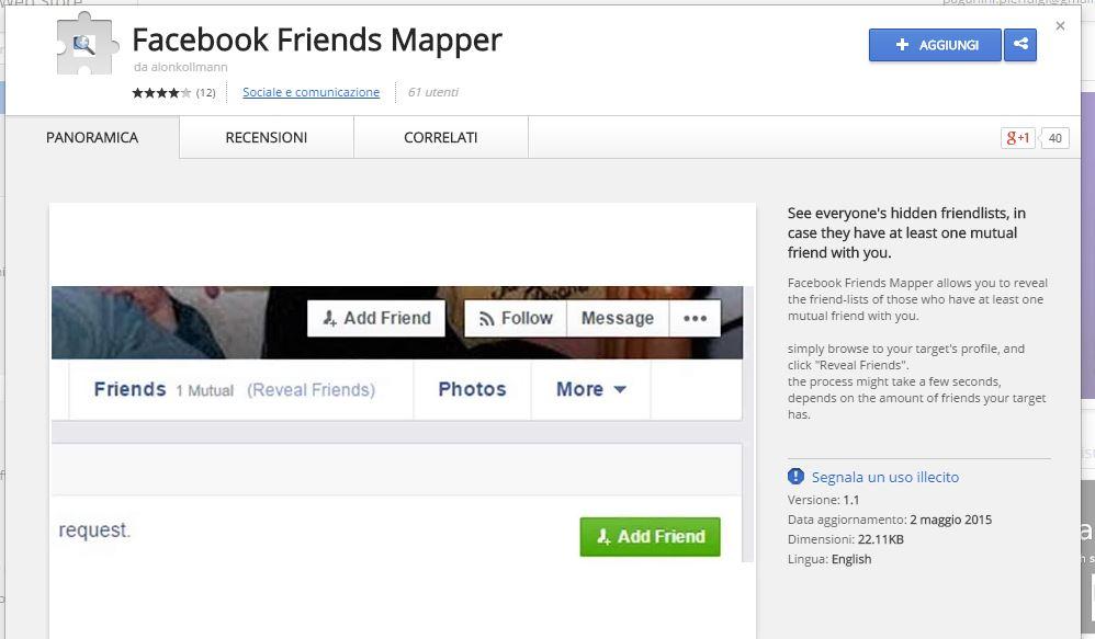 Facebook Friends Mapper - How to crawl Hidden FriendsSecurity Affairs