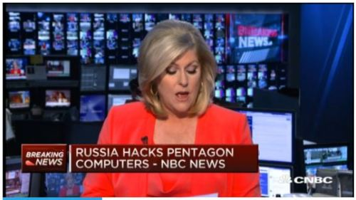 Russian hackers hit Pentagon