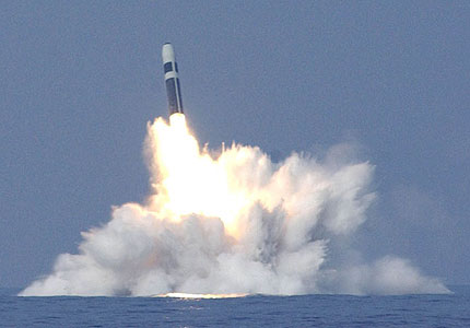 UK Trident nuclear weapons systems 2