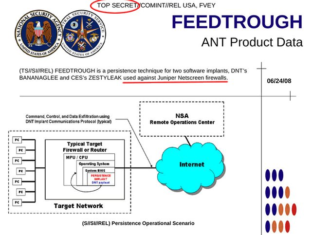 NSA Juniper implant