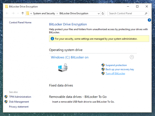 recovery key windows encryption