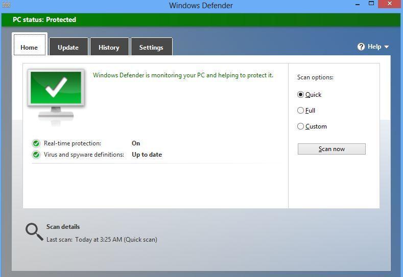windows defender Microsoft