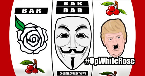 anonymous vs Donald Trump Operation WhiteRose