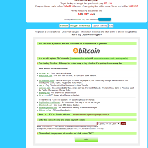 Smile you can recover files encrypted by the CryptXXX ransomware