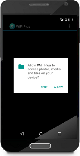 Android 6 0 Marshmallow permission-granting model is under