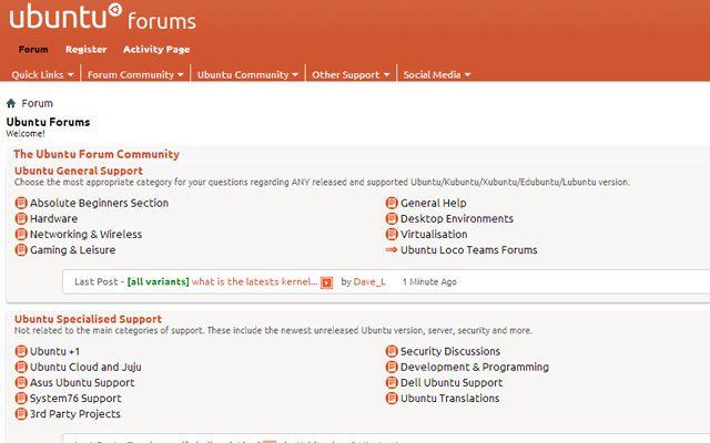 Ubuntu online forums hacked