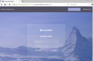 Protonmail-tor-service
