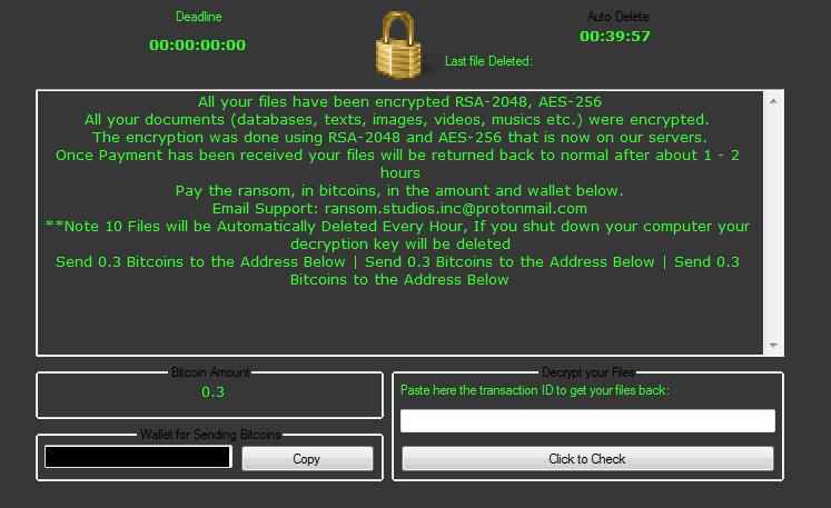 Philadelphia ransomware