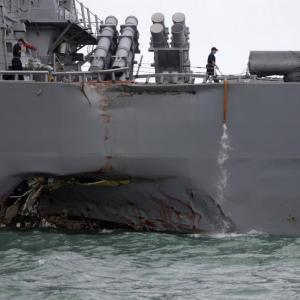 Uss John S Mccain Incident Some Experts Speculate It Was