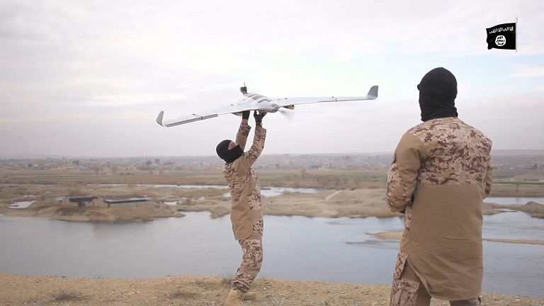 isis drones