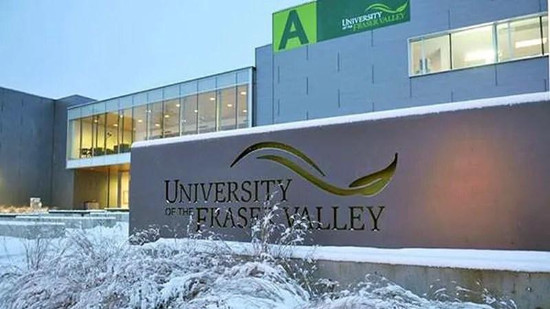 Canadian university UFV