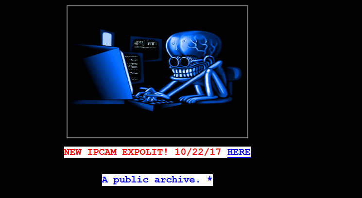Hack the hackers  Watch out the NEW IPCAM EXPLOIT, it is a scam