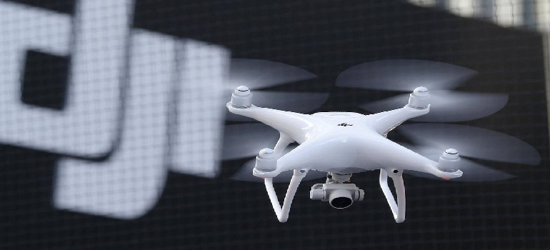 DJI drones may be sending data about U S  critical infrastructure
